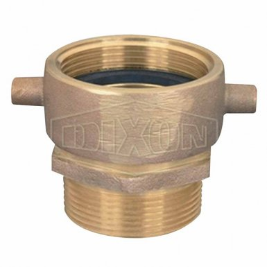 Dixon Valve SM250F-D Domestic Female Swivel x Male Brass Fittings