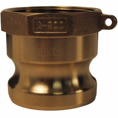 Dixon Valve G200-A-BR Global Type A Adapters