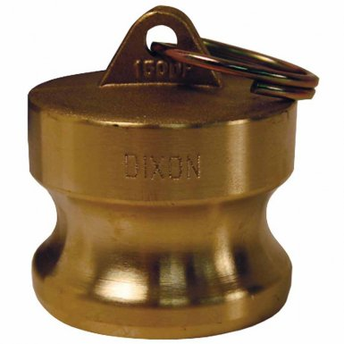 Dixon Valve G75-DP-BR Global Type DP Dust Plugs