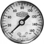 Dixon Valve GC220 Standard Dry Gauges