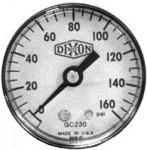 Dixon Valve GL115 Standard Dry Gauges