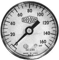 Dixon Valve GL130 Standard Dry Gauges