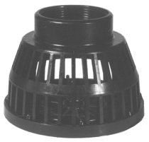 Dixon Valve TSS35 Threaded Black Polyethylene Strainers