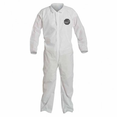 DuPont PB120SWH5X002500 Proshield 10 Coveralls White with Open Wrists and Ankles