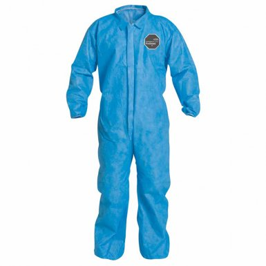 DuPont PB125SBU3X002500 Proshield 10 Coveralls Blue with Elastic Wrists and Ankles