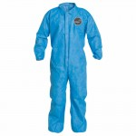 DuPont PB125SBU4X002500 Proshield 10 Coveralls Blue with Elastic Wrists and Ankles