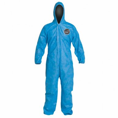 DuPont PB127SBU2X002500 Proshield 10 Coveralls Blue with Attached Hood