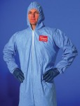 DuPont TM127S-L Tempro Coveralls with Attached Hood
