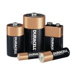Duracell MN16RT4Z CopperTop Alkaline Batteries with DuraLock Power Preserve Technology