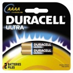Duracell DURMX2500B2PK CopperTop Alkaline Batteries with DuraLock Power Preserve Technology