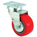 E.R. Wagner 4F8806C2500F1AR Medium-Heavy Duty Rigid Casters