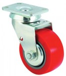 E.R. Wagner 4F8805C2500F1AR Medium-Heavy Duty Rigid Casters