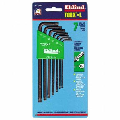 Eklind Tool 10907 Eklind Tool Torx L-Key Sets