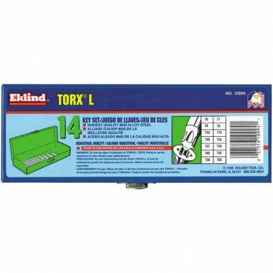 Eklind Tool 10994 Eklind Tool Torx L-Key Sets