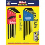 Eklind Tool 13218 Eklind Tool Ball-Hex-L Key Sets