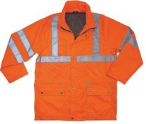 Ergodyne 24313 GloWear 8365 Class 3 Rain Jackets