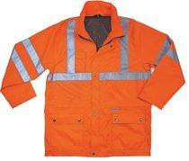 Ergodyne 24314 GloWear 8365 Class 3 Rain Jackets
