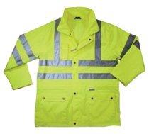Ergodyne 24324 GloWear 8365 Class 3 Rain Jackets