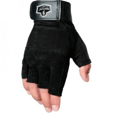 Ergodyne 17784 ProFlex 901 Impact-Half Finger Gloves