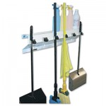 Excell Metal Products Co 3336WHT2 Ex-Cell Mop & Broom Holder