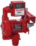 Fill-Rite FR701V Rotary Vane Pumps with Manual Nozzle