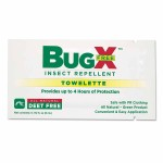 First Aid Only 18-830 BugX DEET Free Insect Repellent Towelette