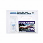 First Aid Only 24-500 First Aid Kit and Eye Wash Station