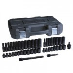 GearWrench 84916N 44 Piece Standard/Deep Impact Socket Sets