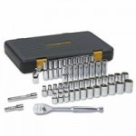 GearWrench 80300P 51 Piece 120XP Standard & Deep Mechanics Socket Sets