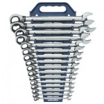 GearWrench 9620N Reversible Combination Ratcheting Wrench Sets