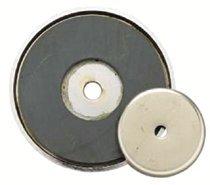 General Tools 376B Shallow Pot Ceramic Magnets