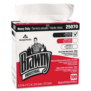 Georgia-Pacific 25070CT Brawny HEF Shop Towels