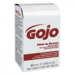 Gojo GOJ912812CT 800-ml Bag-in-Box Refills