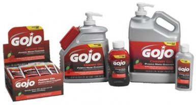 Gojo 2354-08 Cherry Gel Pumice Hand Cleaners