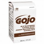 Gojo 9132-12 E-2 Sanitizing Lotion Soaps