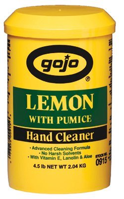 Gojo 0915-06 Lemon Pumice Hand Cleaners