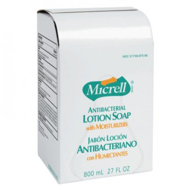 Gojo 2257-04 MICRELL Antibacterial Lotion Soap Refill