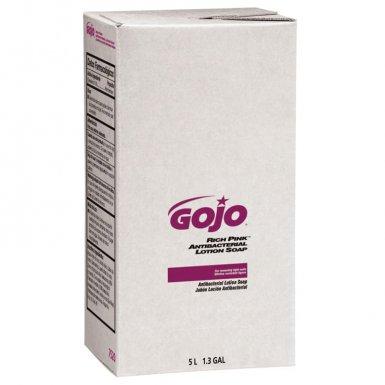 Gojo 7520-02 RICH PINK Antibacterial Lotion Soaps