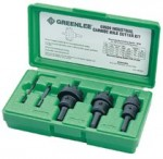 Greenlee 635 Carbide-Tipped Hole Cutter Kits