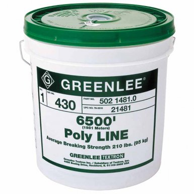 Greenlee 431 Poly Lines