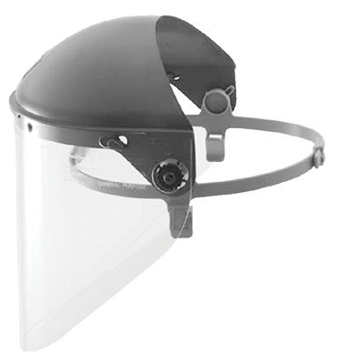 Honeywell F6500 Fibre-Metal High Performance Protective Cap Faceshields