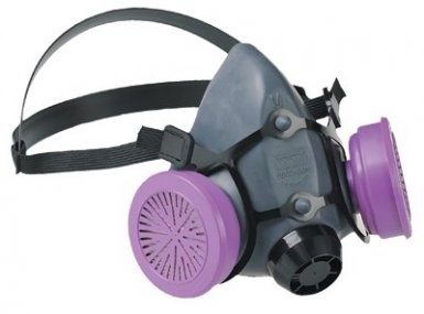 Honeywell 550030S North 5500 Series Low Maintenance Half Mask Respirators