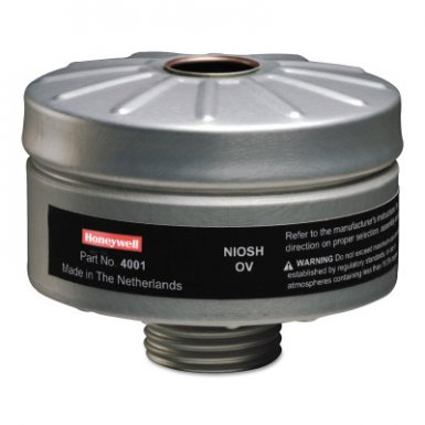 Honeywell 4001 North Compact Air 200 Series PAPR Organic Vapor Cartridges with HEPA Filters