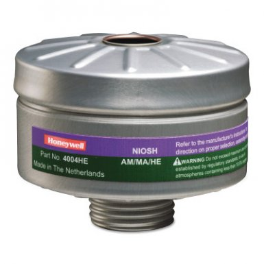 Honeywell 4004HE North Compact Air 200 Series PAPR Organic Vapor Cartridges with HEPA Filters