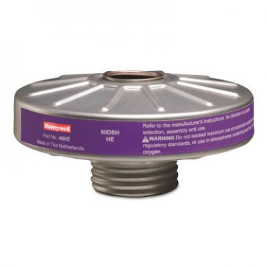 Honeywell 40HE North Compact Air 200 Series PAPR Organic Vapor Cartridges with HEPA Filters