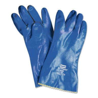 Honeywell NK803ES/11 North Nitri-Knit Supported Nitrile Gloves