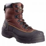Honeywell 65390-BRN120 Oliver by  Lace Up Chemical Resistant Leather Work Boots