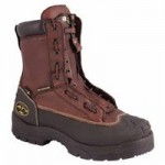 Honeywell 65392-TN120 Oliver by  Lace-In Quick Release Zipper Closure Chemical Resistant Leather Work Boots