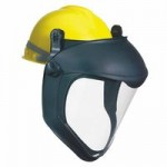 Honeywell S8505 Uvex Bionic Face Shield with Hard Hat Adapter