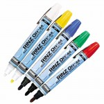 ITW Professional Brands 44757 DYKEM RINZ OFF Water Removable Temporary Markers
